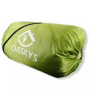 oaskys Camping Sleeping Bag 3 Season Warm & Cool W